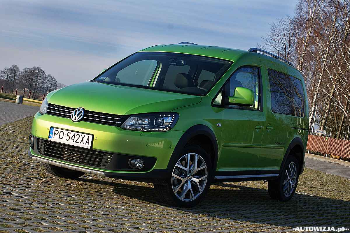 volkswagen cross caddy 2 0 tdi 4x4 trendline auto test. Black Bedroom Furniture Sets. Home Design Ideas