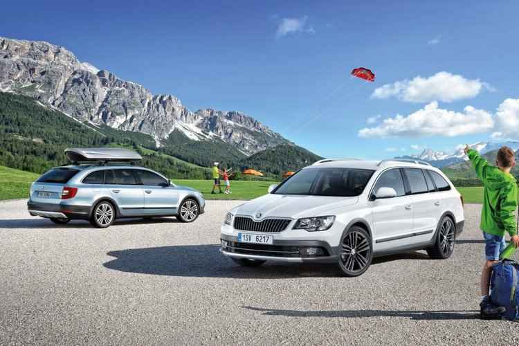 Skoda Superb Outdoor (2014)