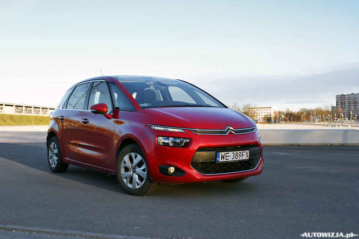 citroen c4 picasso 1 6 e hdi intensive auto test. Black Bedroom Furniture Sets. Home Design Ideas