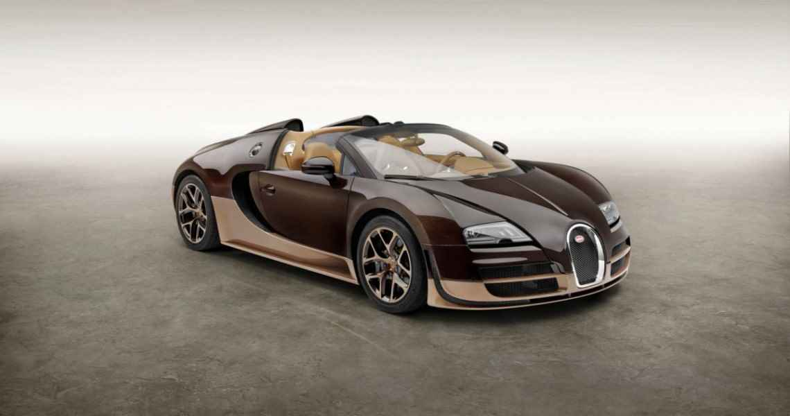 Bugatti Veyron Grand Sport Vitesse na cześć Rembrandta Bugattiego