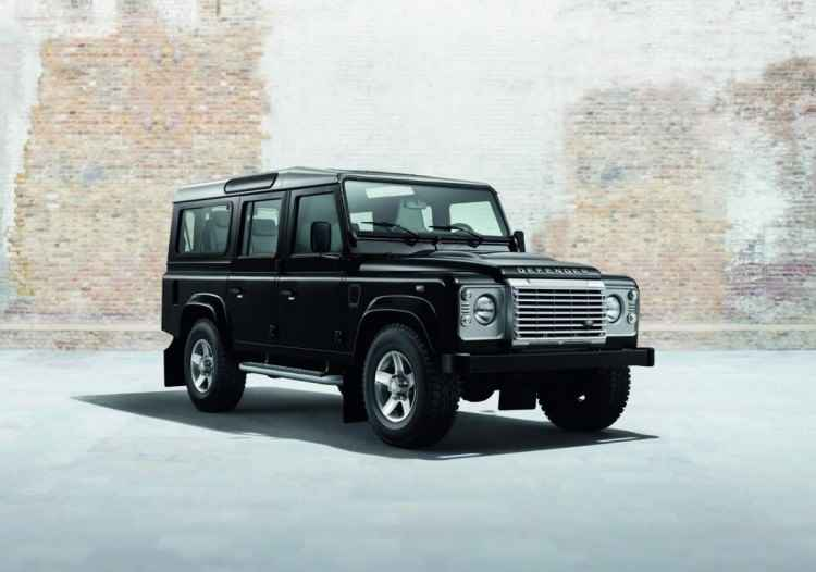 Land Rover Defender Silver Pack (2014)