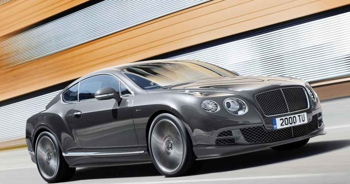 Bentley Continental GT Speed (2014)