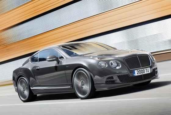 Bentley Continental GT Speed (2014)