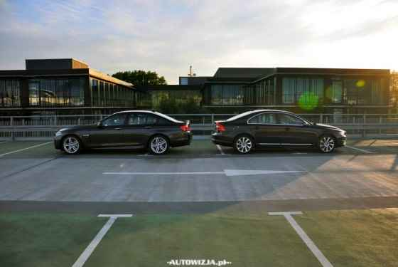 BMW 535i xDrive vs Volvo S80 T5