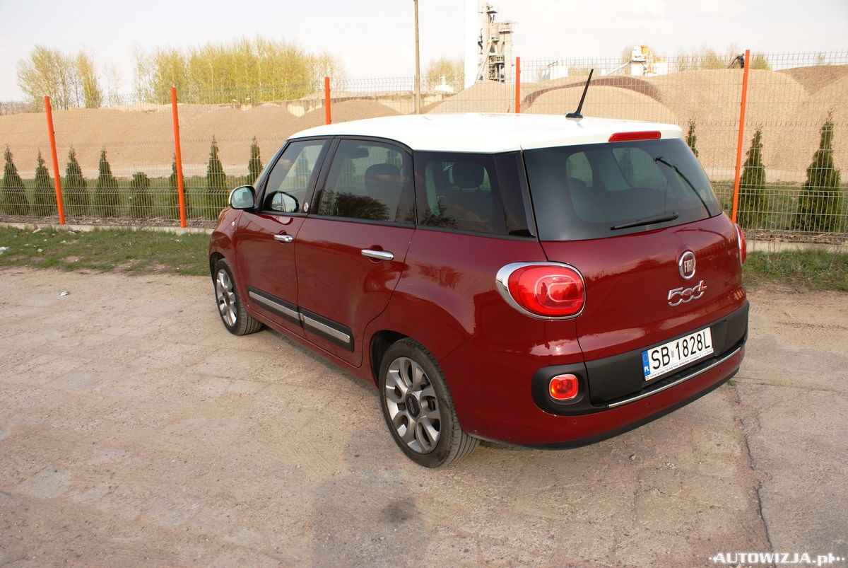 fiat 500l living 1 6 multijet lounge auto test motoryzacja. Black Bedroom Furniture Sets. Home Design Ideas