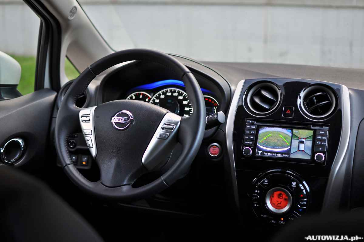 nissan note 1 5 dci tekna auto test motoryzacja. Black Bedroom Furniture Sets. Home Design Ideas