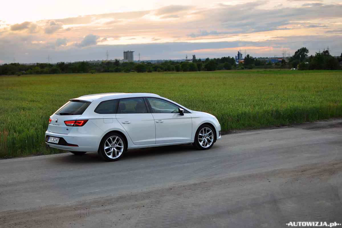 seat leon st fr 2 0 tdi 150 km auto test. Black Bedroom Furniture Sets. Home Design Ideas