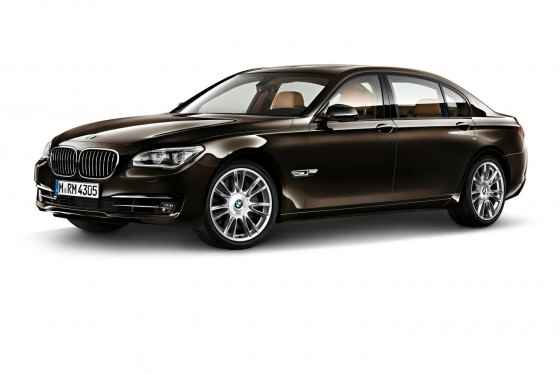 BMW serii 7 Individual Final Edition (2014)