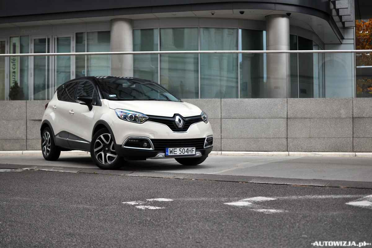 renault captur intens tce 120 edc auto test motoryzacja. Black Bedroom Furniture Sets. Home Design Ideas