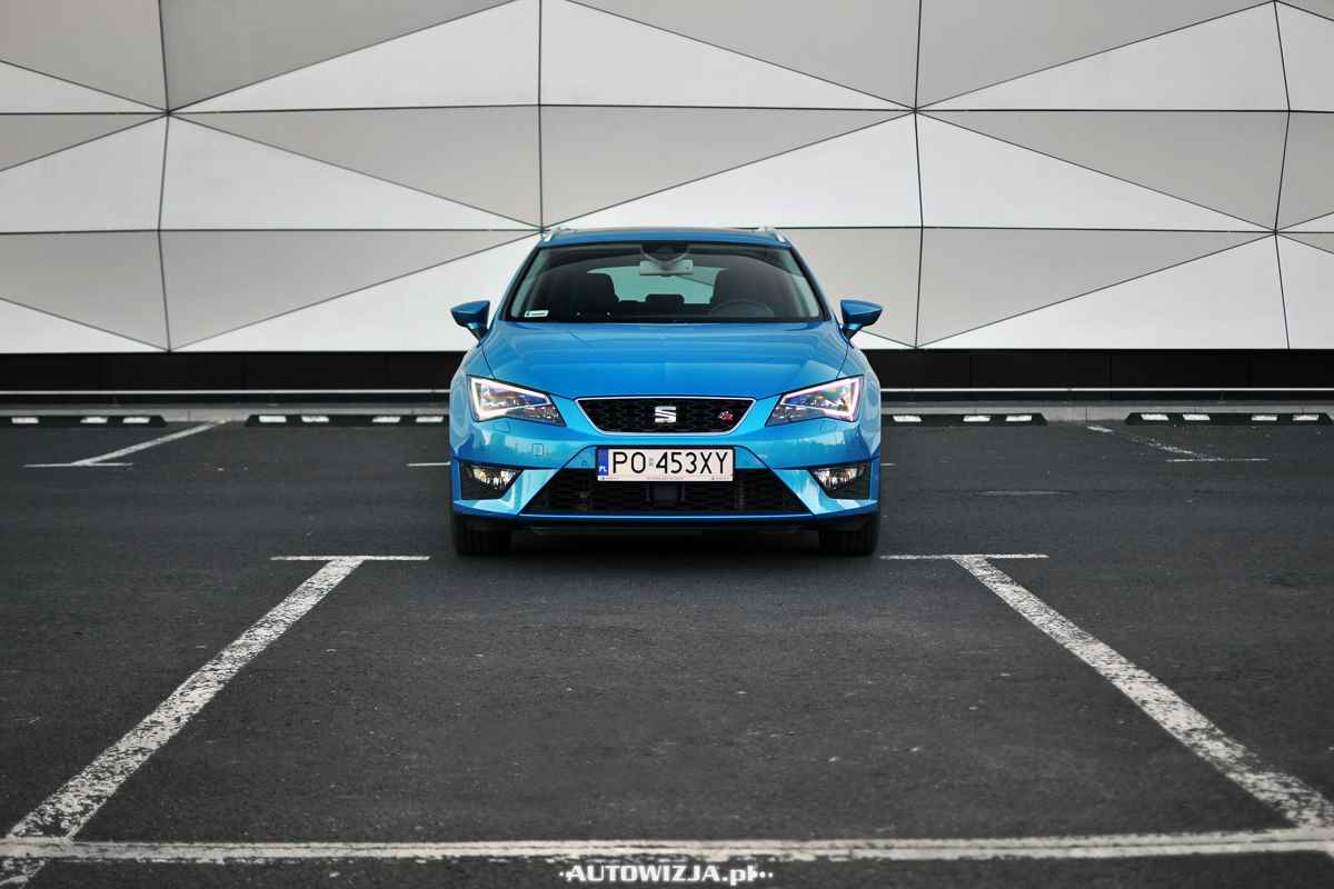 seat leon st fr 2 0 tdi 184 km auto test motoryzacja. Black Bedroom Furniture Sets. Home Design Ideas