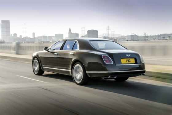 Bentley Mulsanne Speed (2014)