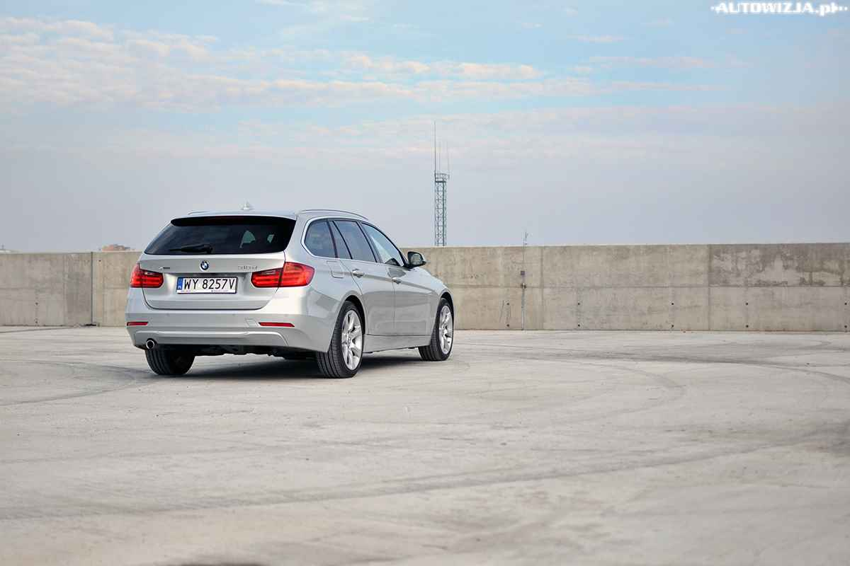 bmw 318d xdrive touring auto test motoryzacja. Black Bedroom Furniture Sets. Home Design Ideas