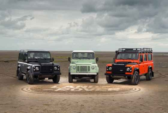 Land Rover Defender Limited Edition 1