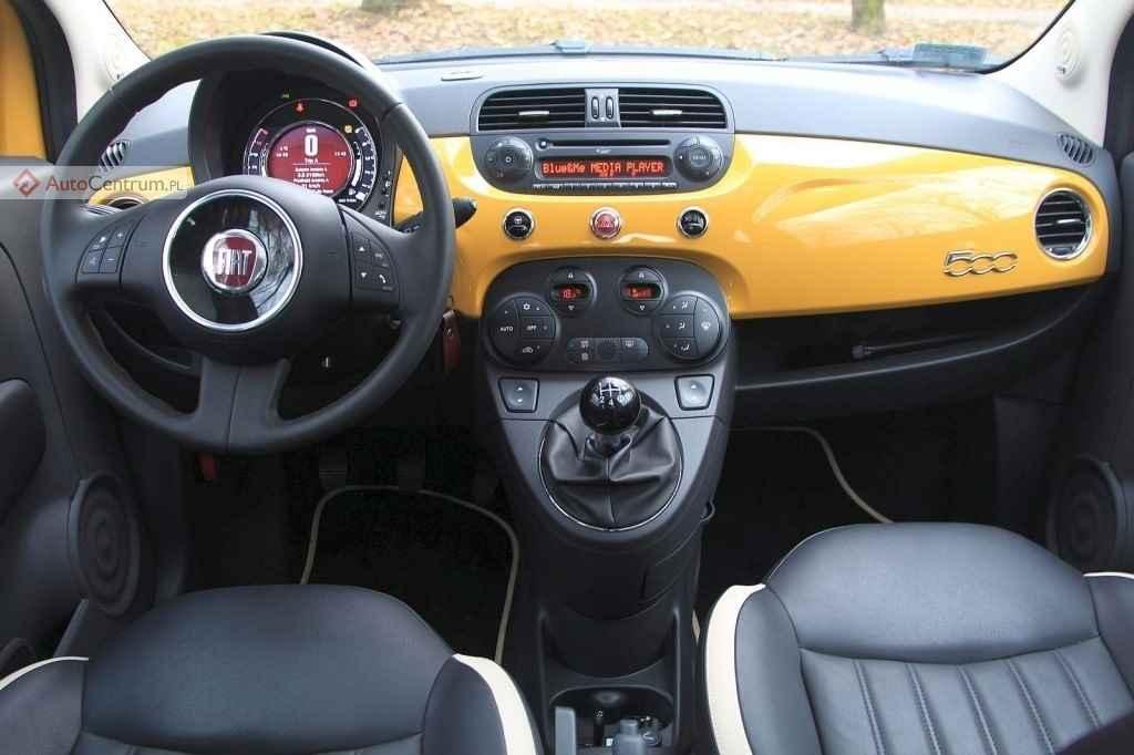 Młodzieńczy Fiat 500 1.3 Multijet Cult - AUTO TEST - AUTOWIZJA.pl - Motoryzacja PQ45