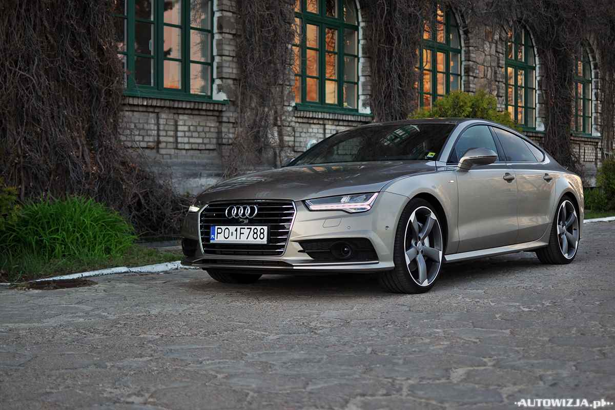 audi a7 sportback 3 0 tdi 320 km pomiary. Black Bedroom Furniture Sets. Home Design Ideas