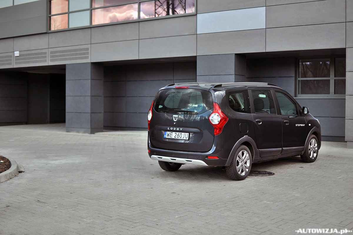 dacia lodgy stepway 1 5 dci 110 auto test motoryzacja. Black Bedroom Furniture Sets. Home Design Ideas