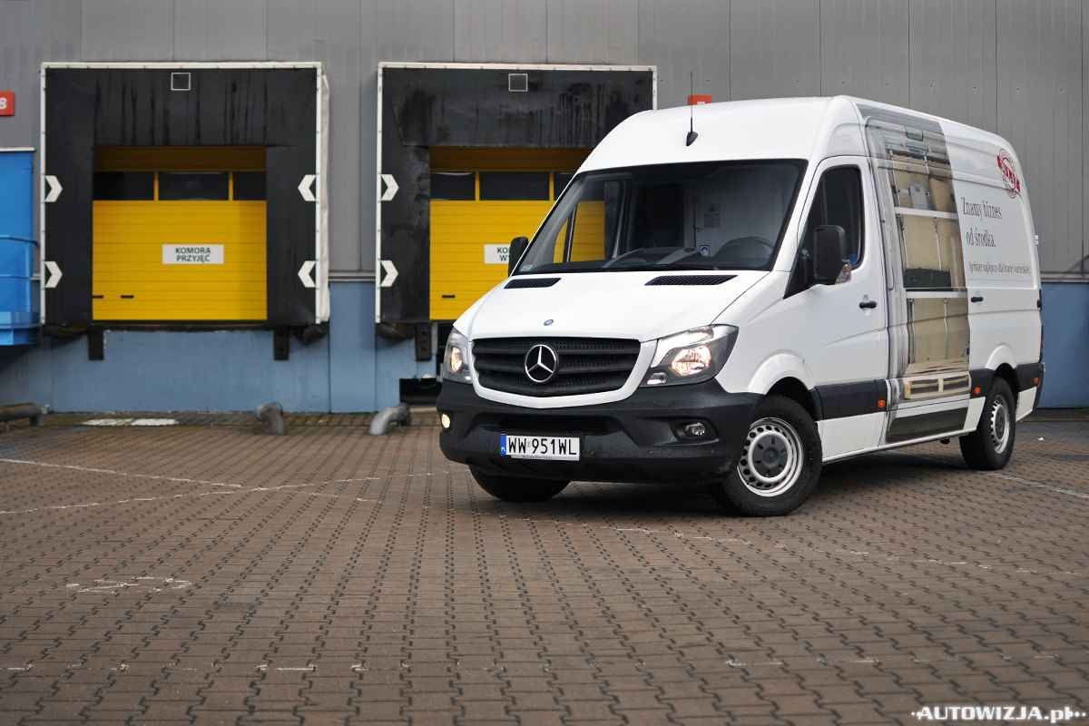 mercedes sprinter furgon 313 cdi l2h2 auto test. Black Bedroom Furniture Sets. Home Design Ideas