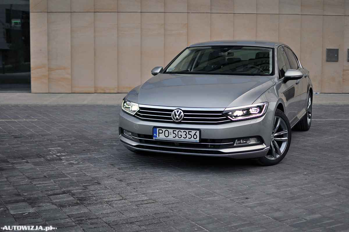 volkswagen passat b8 2 0 tdi dsg highline auto test motoryzacja. Black Bedroom Furniture Sets. Home Design Ideas