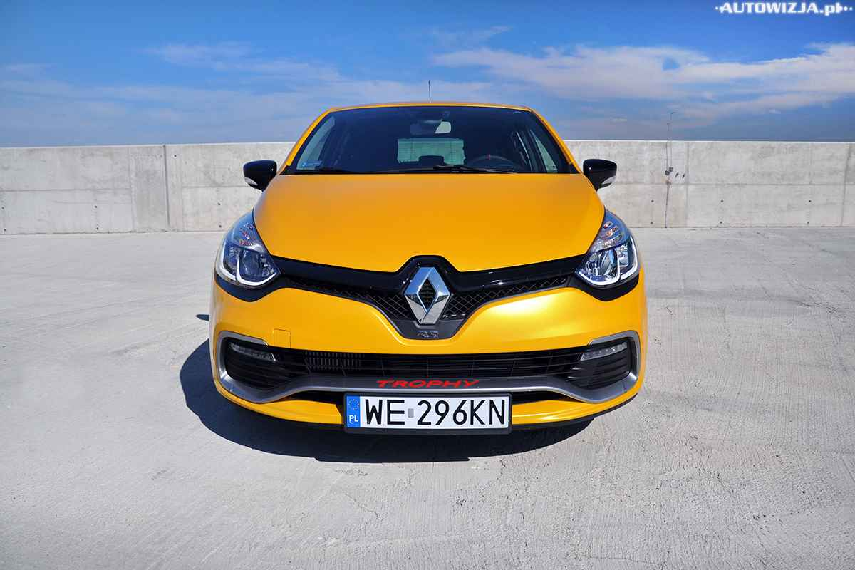 renault clio r s trophy 220 km pomiary motoryzacja. Black Bedroom Furniture Sets. Home Design Ideas