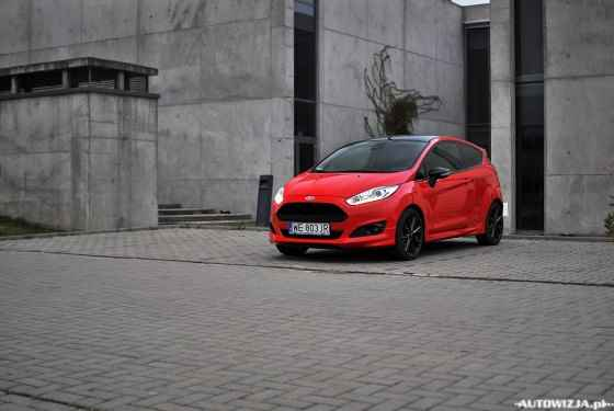 Ford Fiesta 1.0 140 KM EcoBoost Red Edition