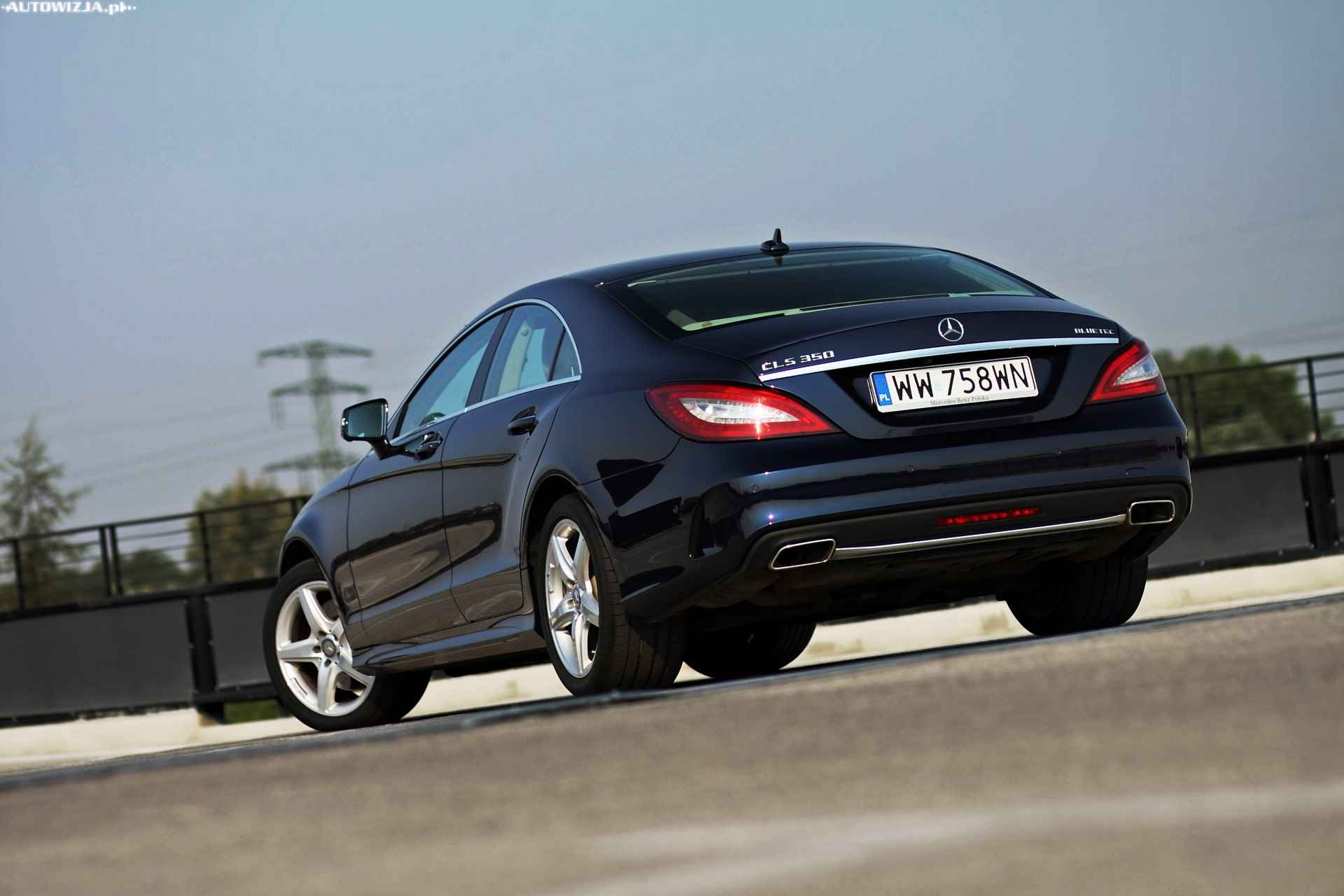 mercedes cls 350 bluetec 4matic auto test motoryzacja. Black Bedroom Furniture Sets. Home Design Ideas