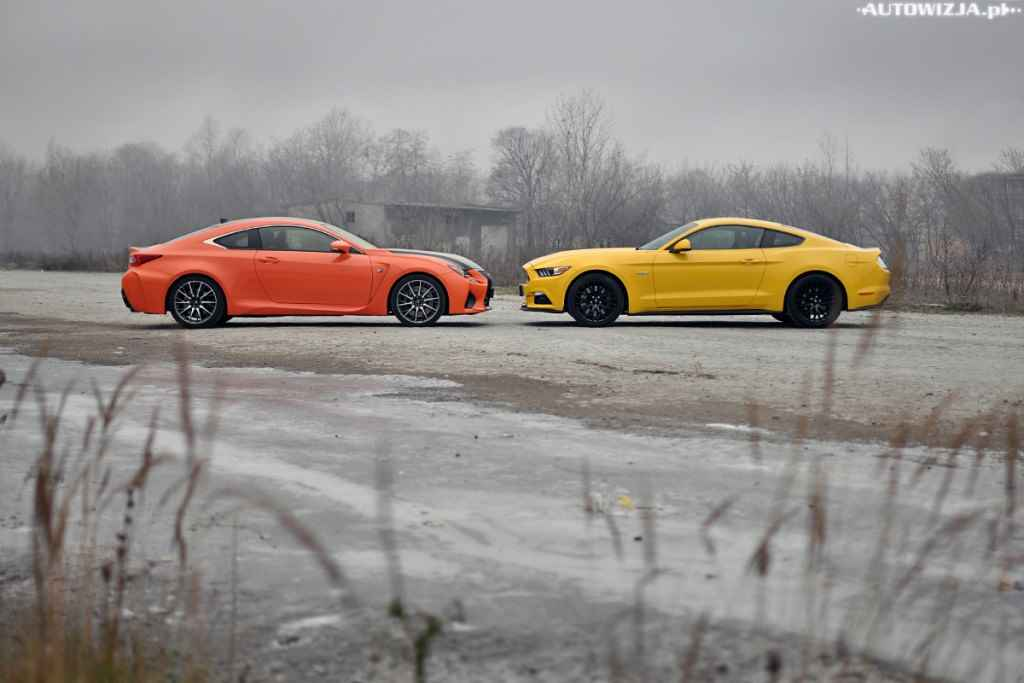 Ford Mustang GT vs Lexus RC-F