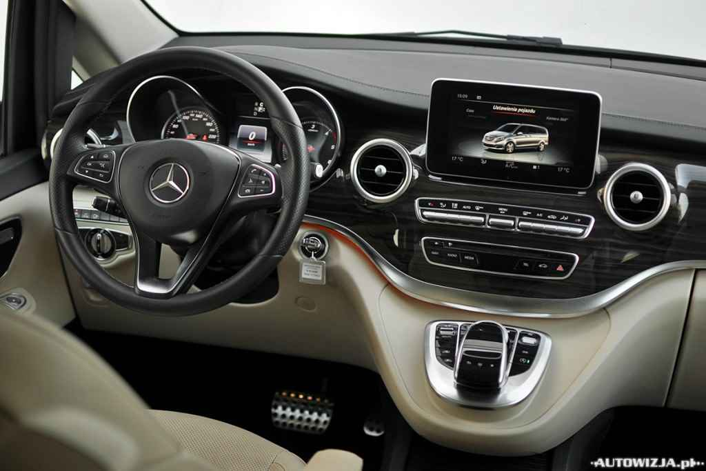 mercedes benz klasa v 250 bluetec auto test autowizja. Black Bedroom Furniture Sets. Home Design Ideas