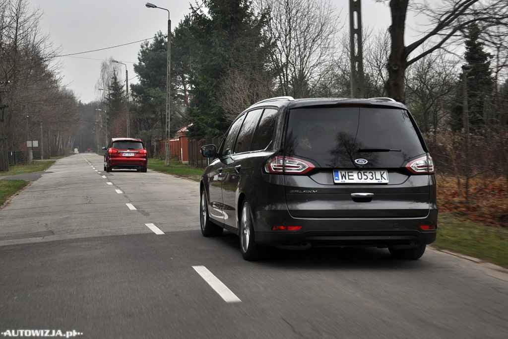 Ford Galaxy vs Ford S-Max