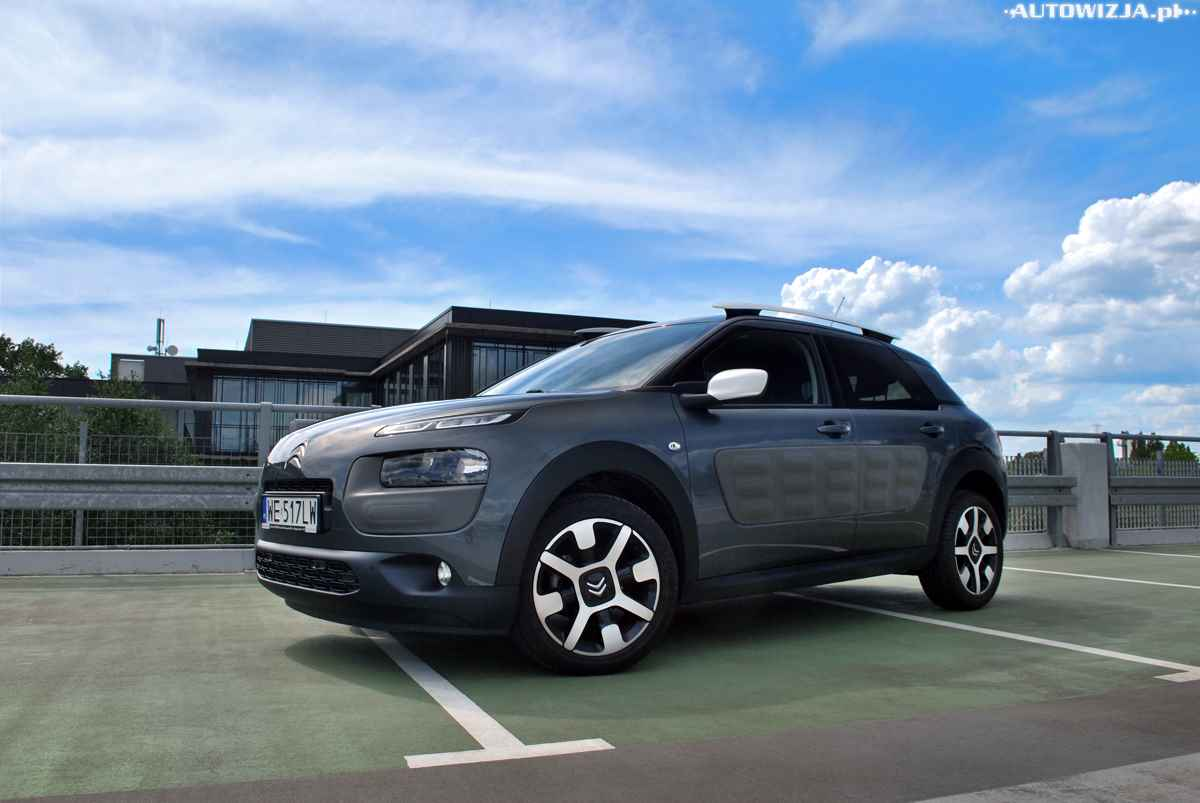 citroen c4 cactus 1 2 puretech test motoryzacja. Black Bedroom Furniture Sets. Home Design Ideas