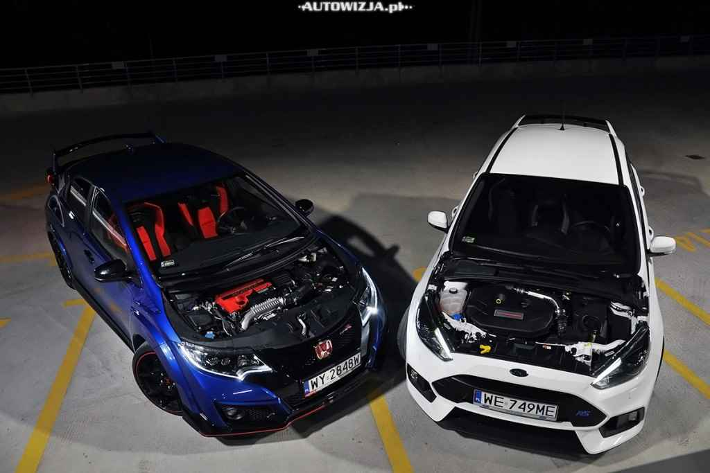 Ford Focus RS vs Honda Civic Type R