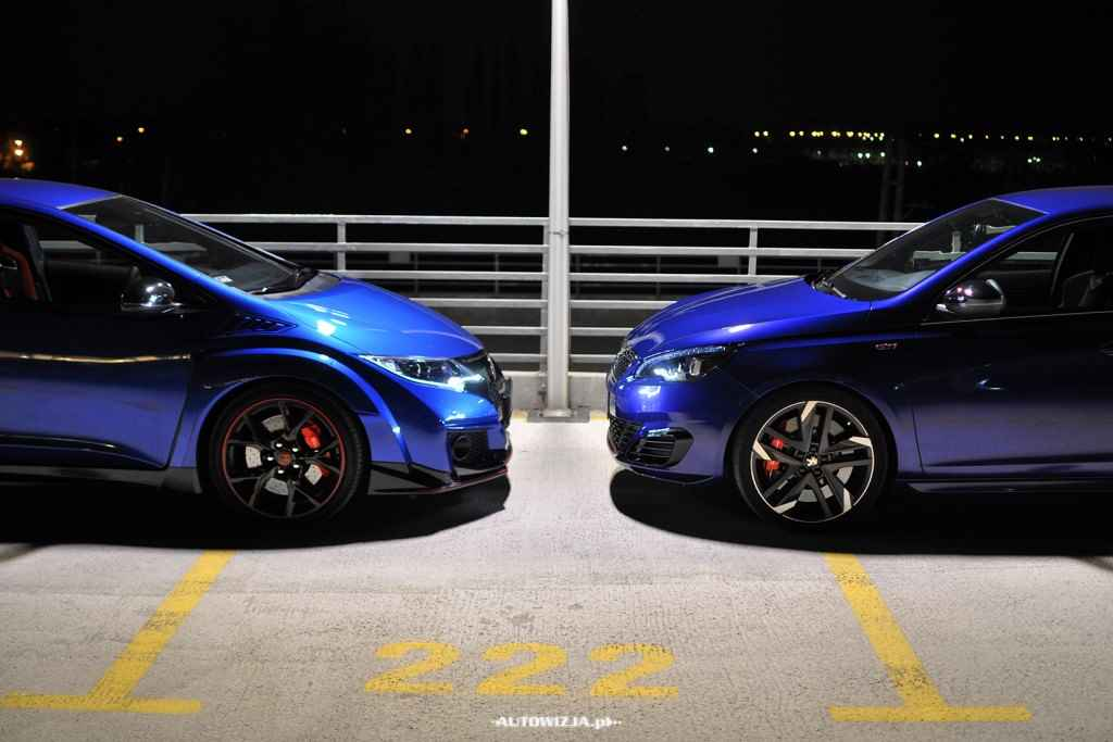 Honda Civic Type R vs Peugeot 308 GTi