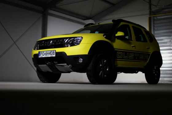 Dacia Duster Overlimit
