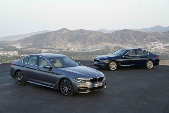Nowe BMW serii 5 (2017)