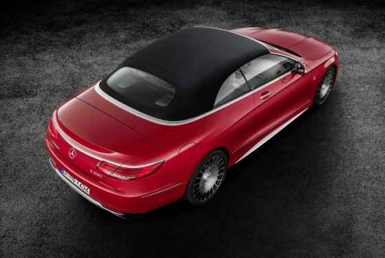 Mercedes-Maybach S 650 Cabriolet (2016)