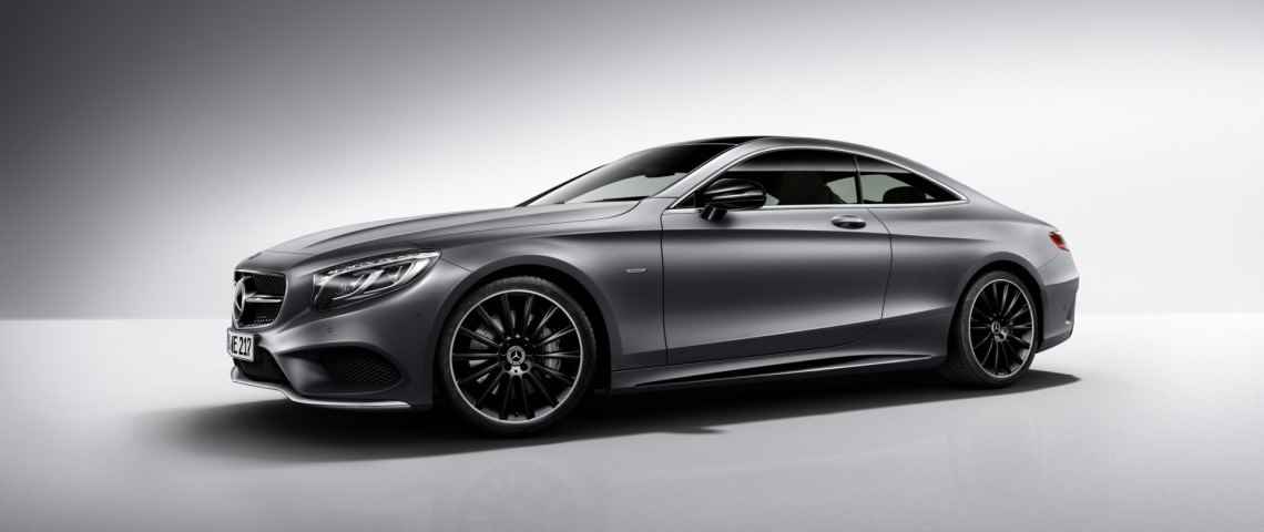 Mercedes Klasy S Coupe Night Edition