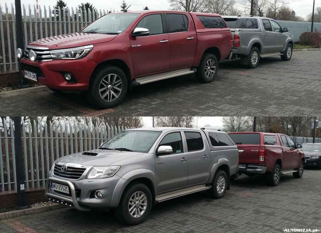 Toyota Hilux VIII vs Toyota Hilux VII