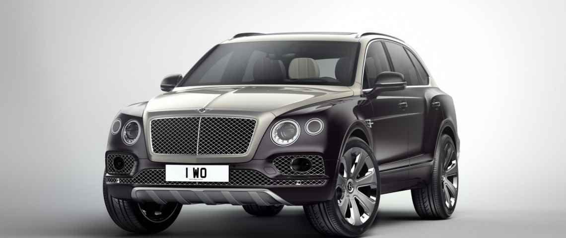 Bentley Bentayga Mulliner (2017)