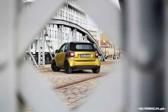 Smart Fortwo Cabrio prime 0.9 TCe 90 KM