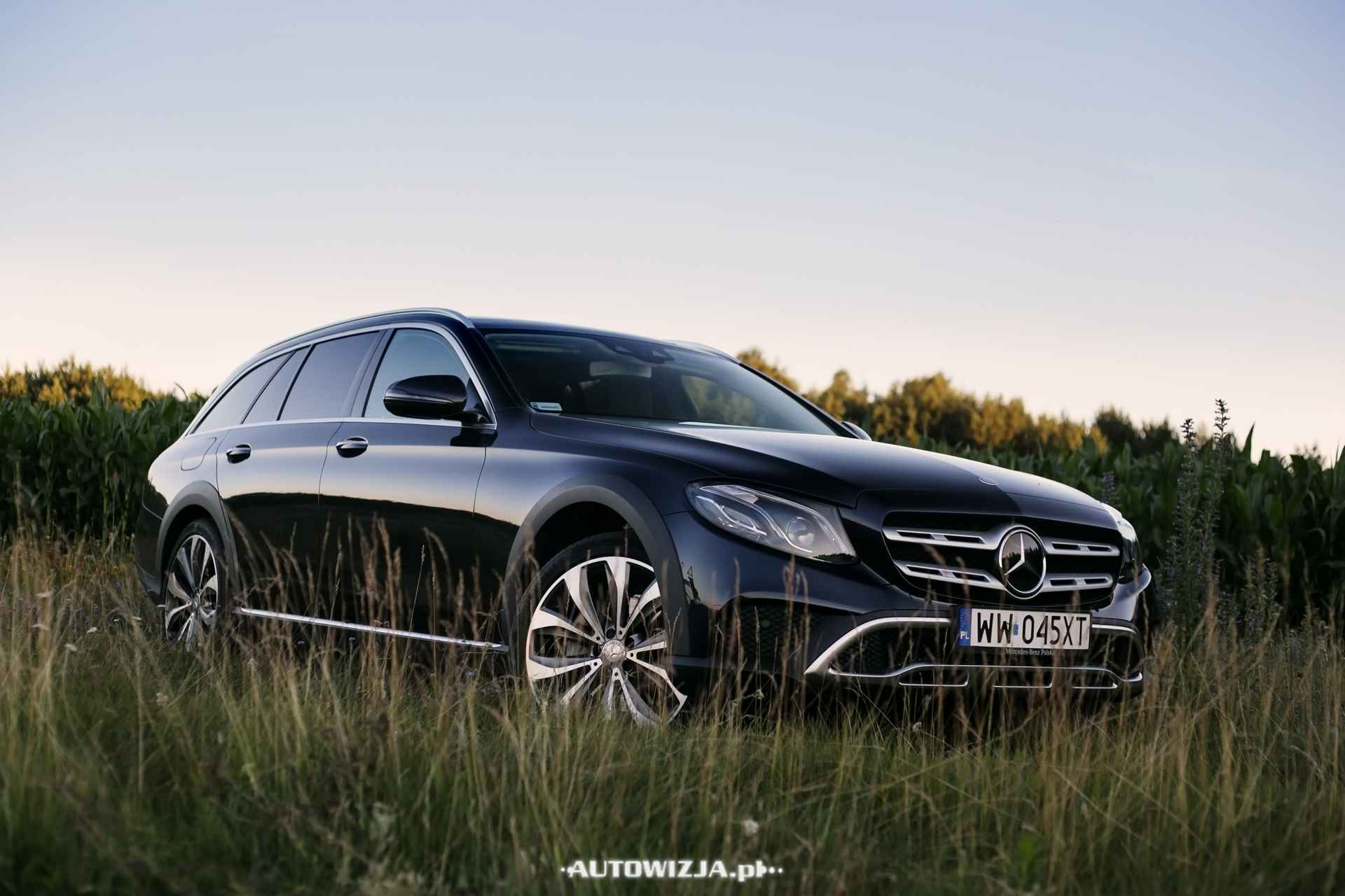 mercedes e 220 d all terrain auto test motoryzacja. Black Bedroom Furniture Sets. Home Design Ideas