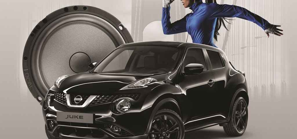 Nissan Juke Dark Sound