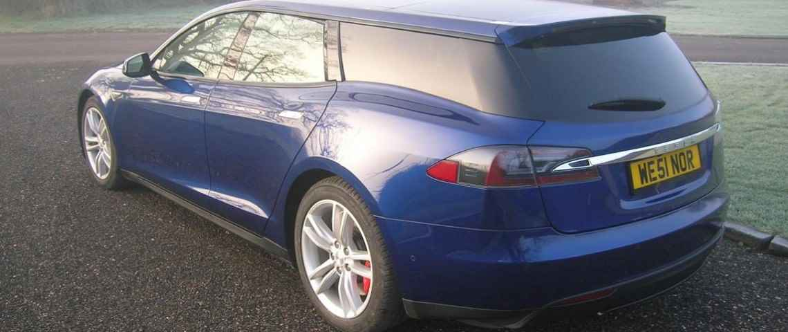 Tesla Model S w wydaniu Shooting Brake