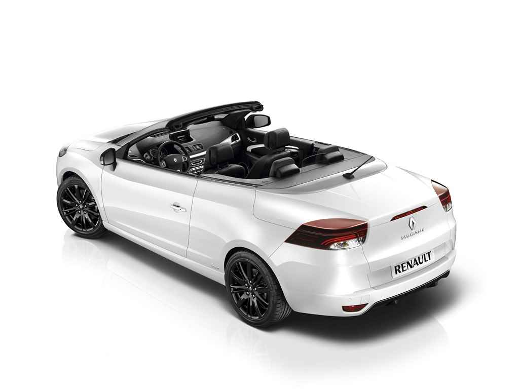 renault megane cabrio w limitowanej wersji monaco gp. Black Bedroom Furniture Sets. Home Design Ideas
