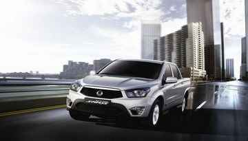 Nowy SsangYong Actyon Sports od 88,000 PLN