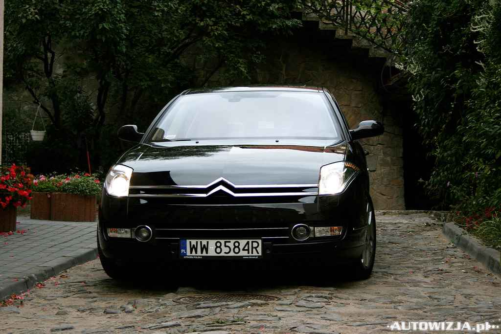 citroen c6 2 7 hdi auto test motoryzacja. Black Bedroom Furniture Sets. Home Design Ideas