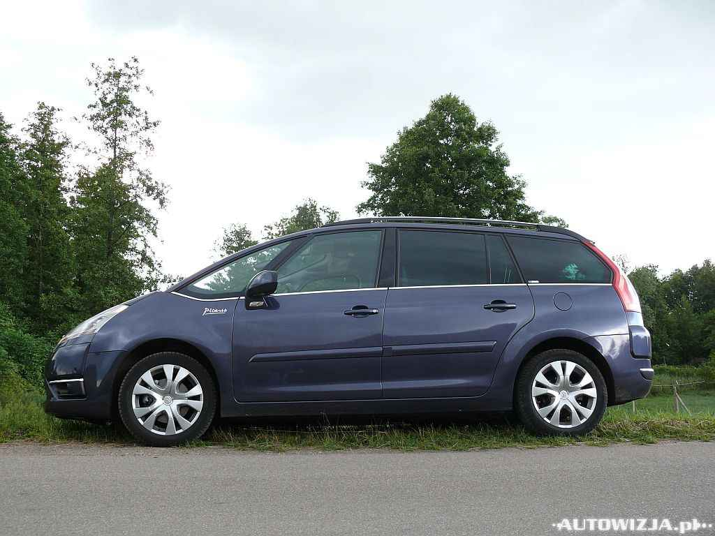 citroen grand c4 picasso 2 0 hdi auto test motoryzacja. Black Bedroom Furniture Sets. Home Design Ideas