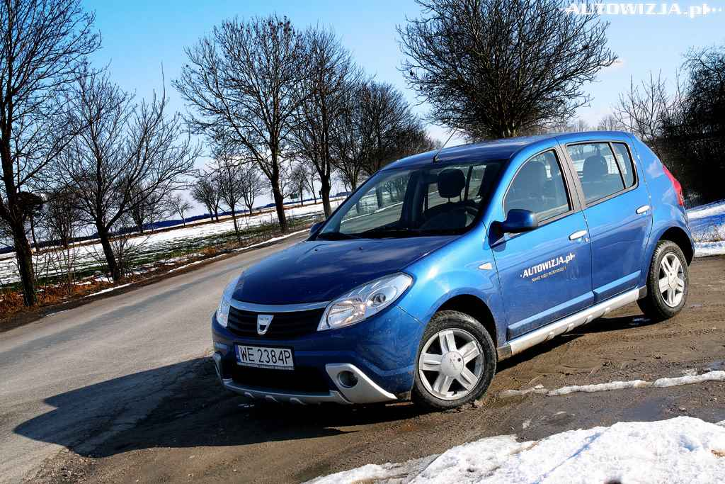dacia sandero 1 4 mpi auto test motoryzacja. Black Bedroom Furniture Sets. Home Design Ideas