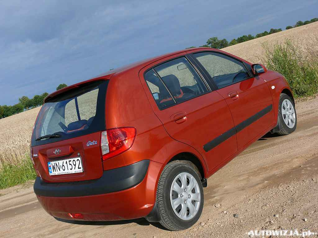 hyundai getz 1 1 auto test motoryzacja. Black Bedroom Furniture Sets. Home Design Ideas
