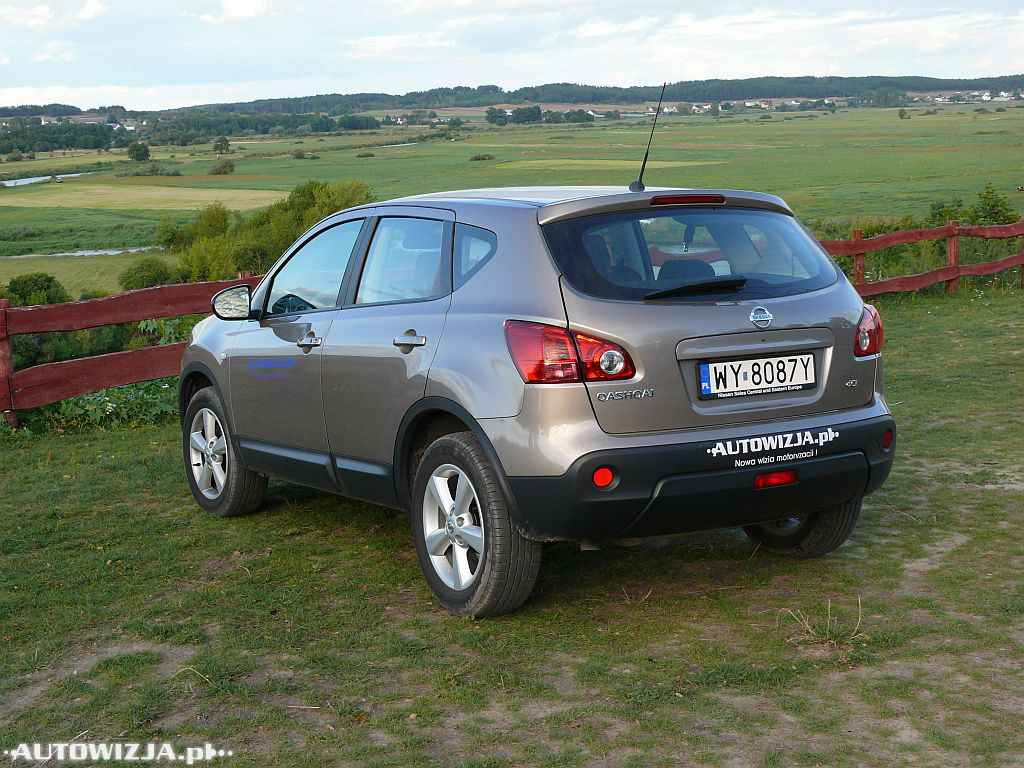 nissan qashqai 2 0 dci auto test motoryzacja. Black Bedroom Furniture Sets. Home Design Ideas