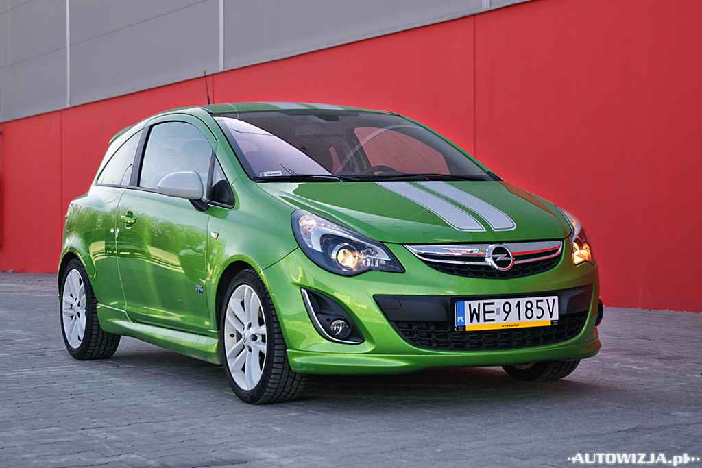 opel corsa d 1 7 cdti cosmo opc line auto test motoryzacja. Black Bedroom Furniture Sets. Home Design Ideas