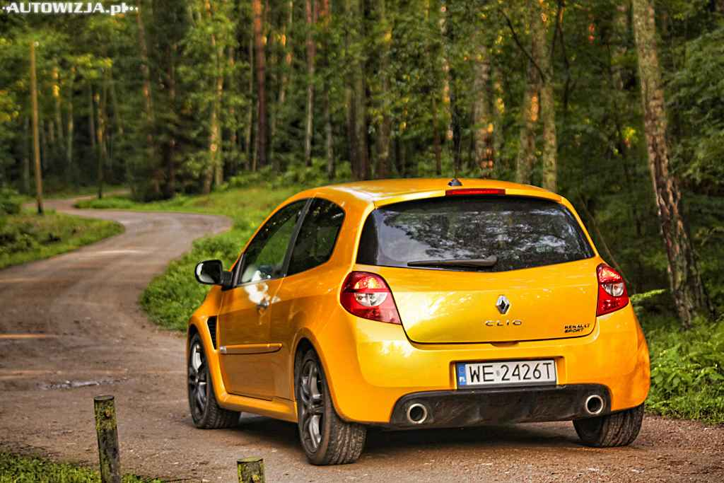 renault clio rs 2 0 16v auto test motoryzacja. Black Bedroom Furniture Sets. Home Design Ideas